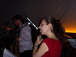 Miriam on flute