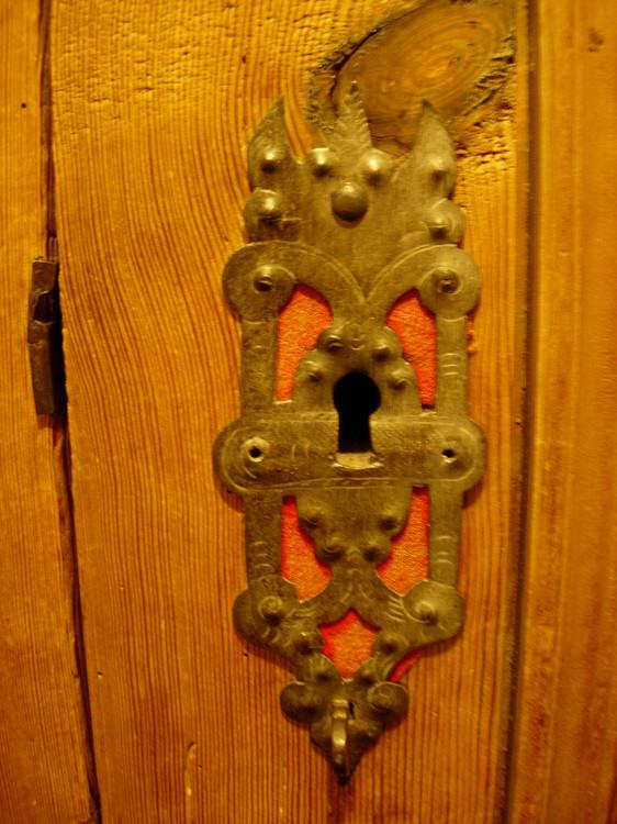 Casa Las Caglias antikes Mobeldetail
