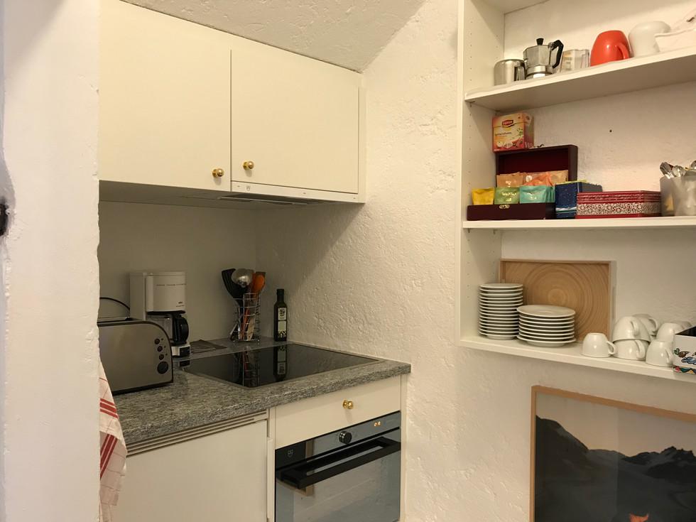 Casa Las Caglias Küche Hallenebene