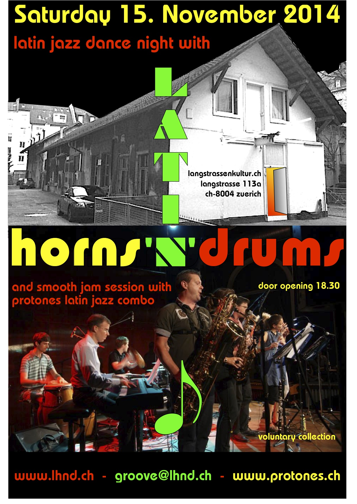 2014 09 15 LATIN HORNS'n'DRUMS