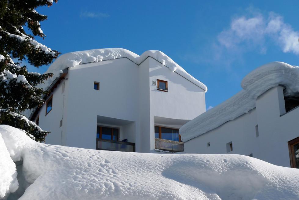 Casa Las Caglias Westfassade