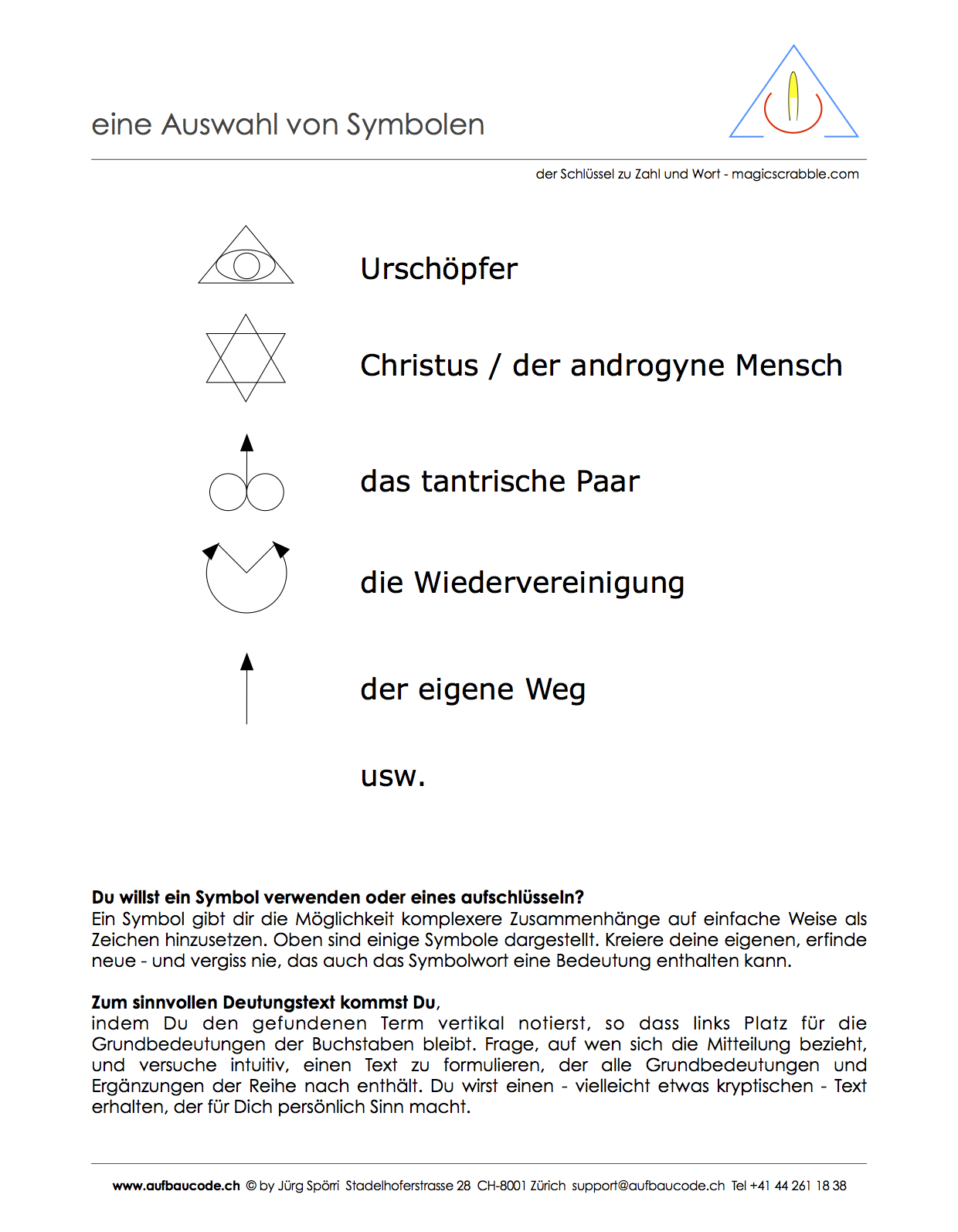 08 Symbole