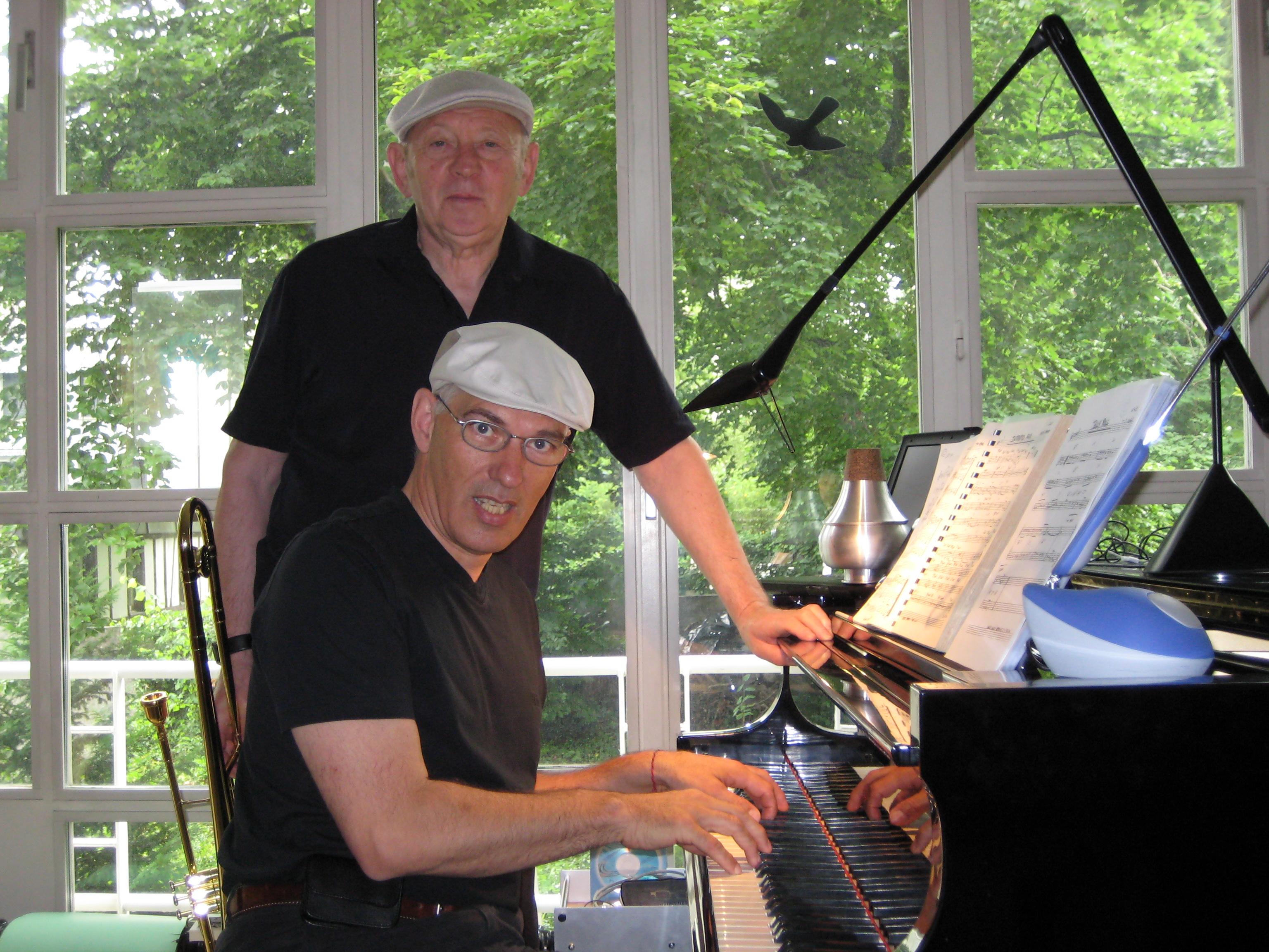 Peter Posaune und Jürg Klavier