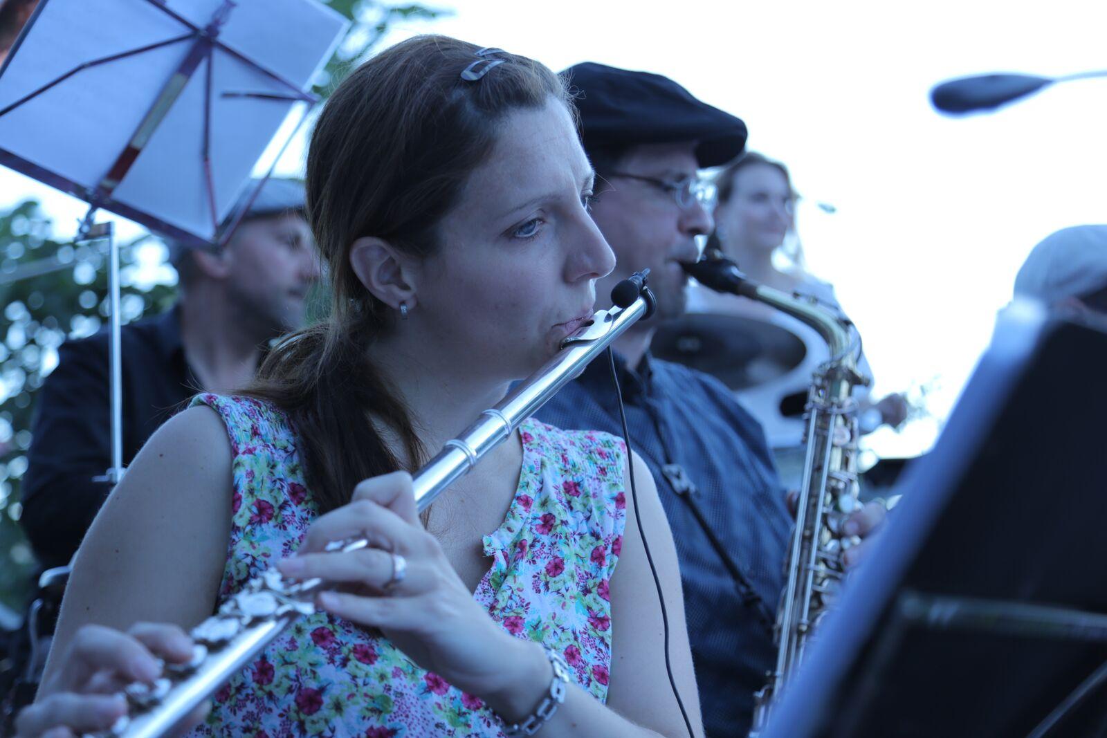 Mirjam on flute
