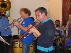 Urs + Arno on trumpet