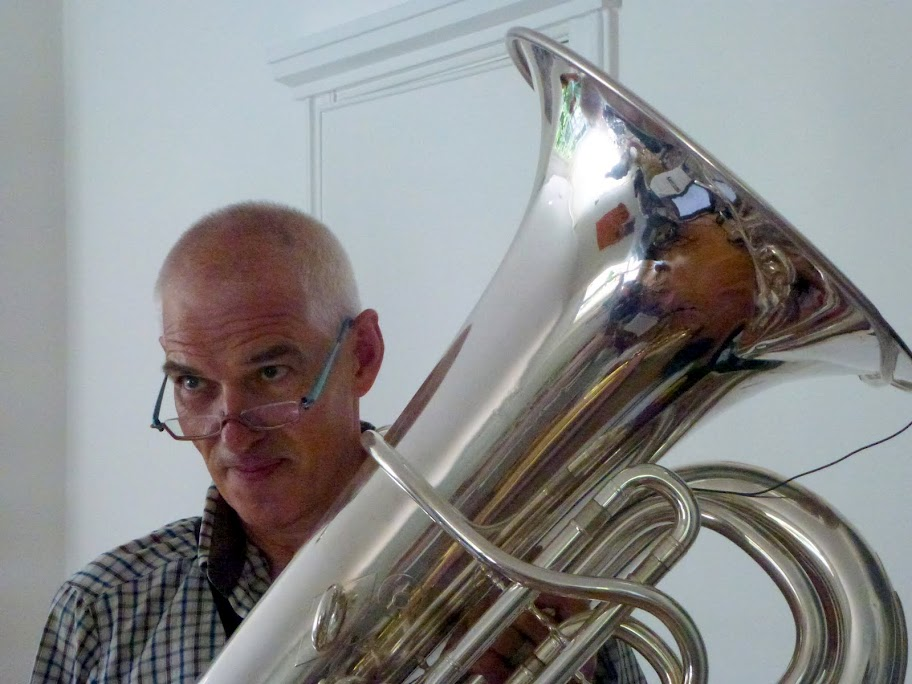 Juerg with tuba