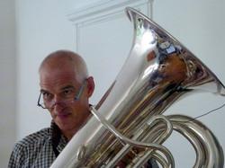 Juerg with tuba