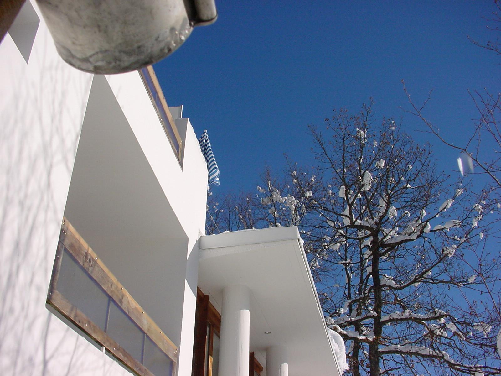 untersicht terrasse