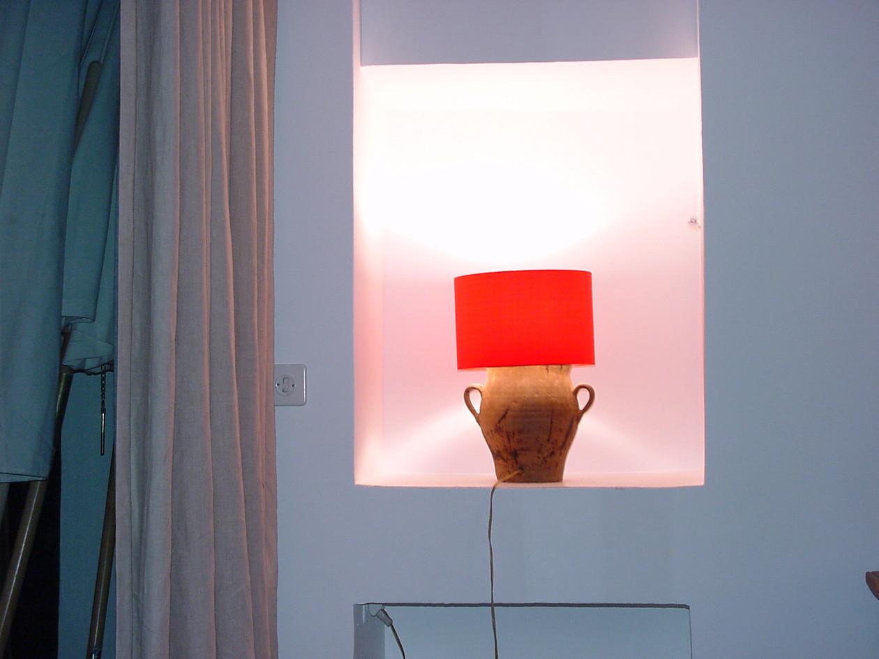 Casa Las Caglias oberes Wohnzimmer Leuchte