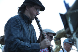 Christian on clarinette