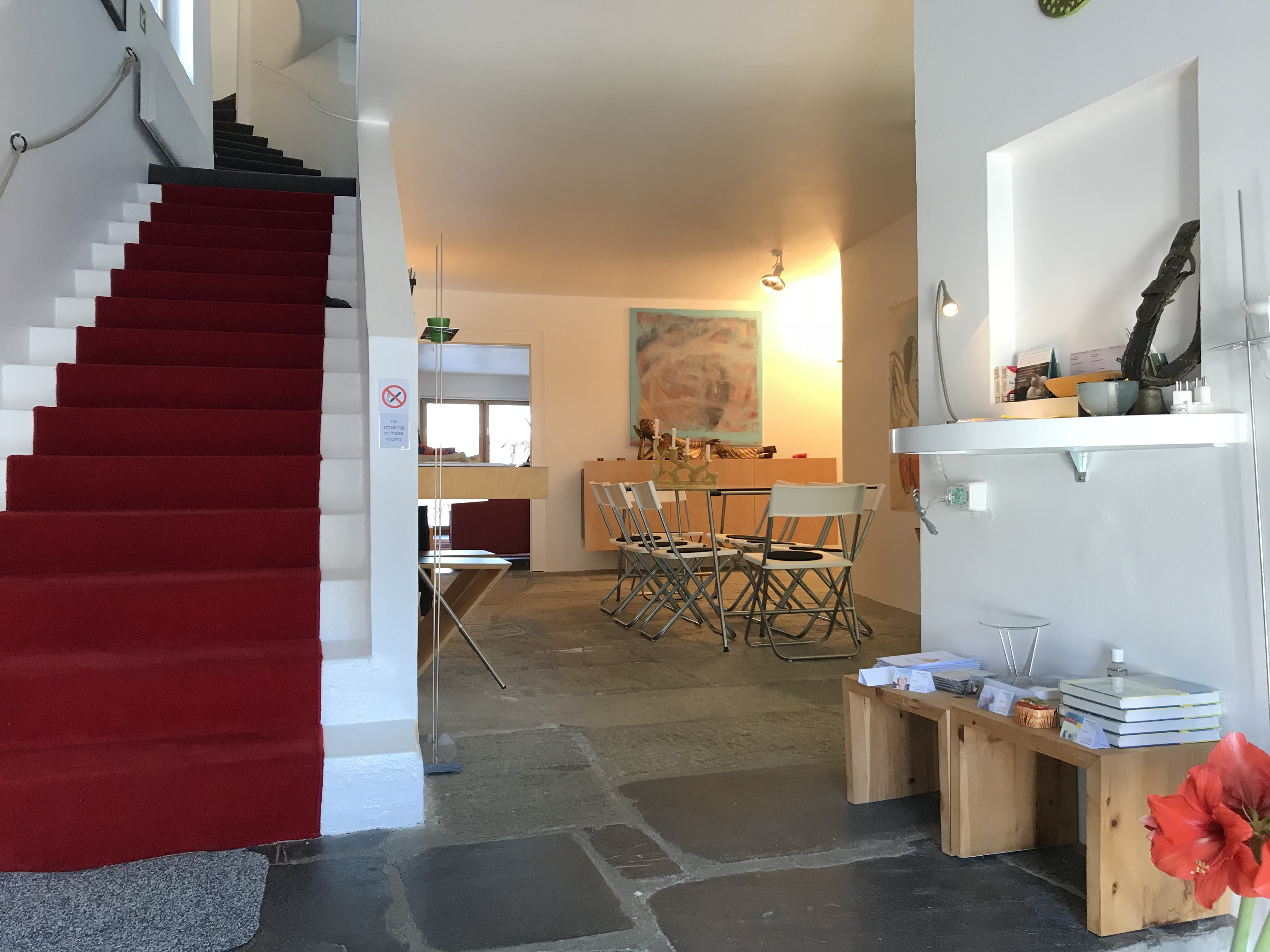Casa Las Caglias - Treppe + Halle