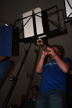 Urs on trumpet