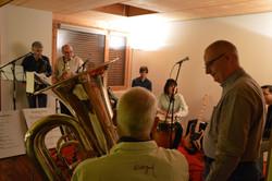 admiration of fellow brass player Kopie