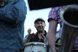 Paco on congas