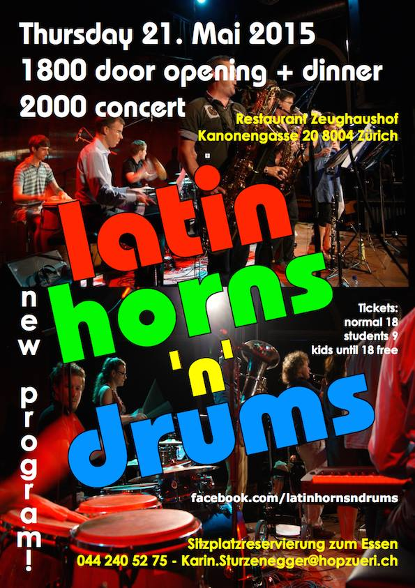 Latin Horns'n'Drums