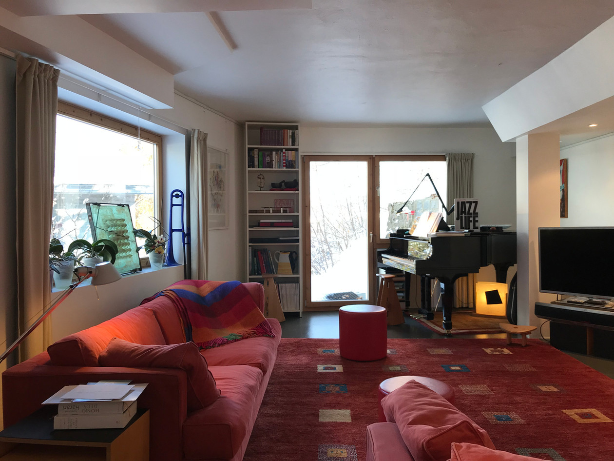 Casa Las Caglias Wohnzimmer