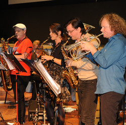 saxes and trumpet 2