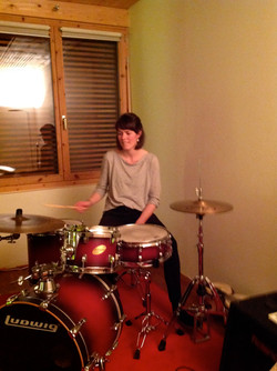 Marina stunnin' drummin' Kopie