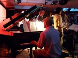 Juerg on piano