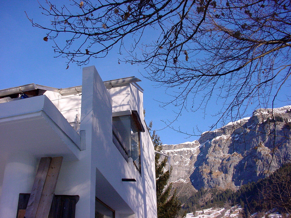 Casa Las Caglias Ostfassade