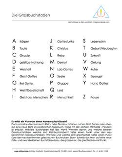 Aufbaucode - Substantive