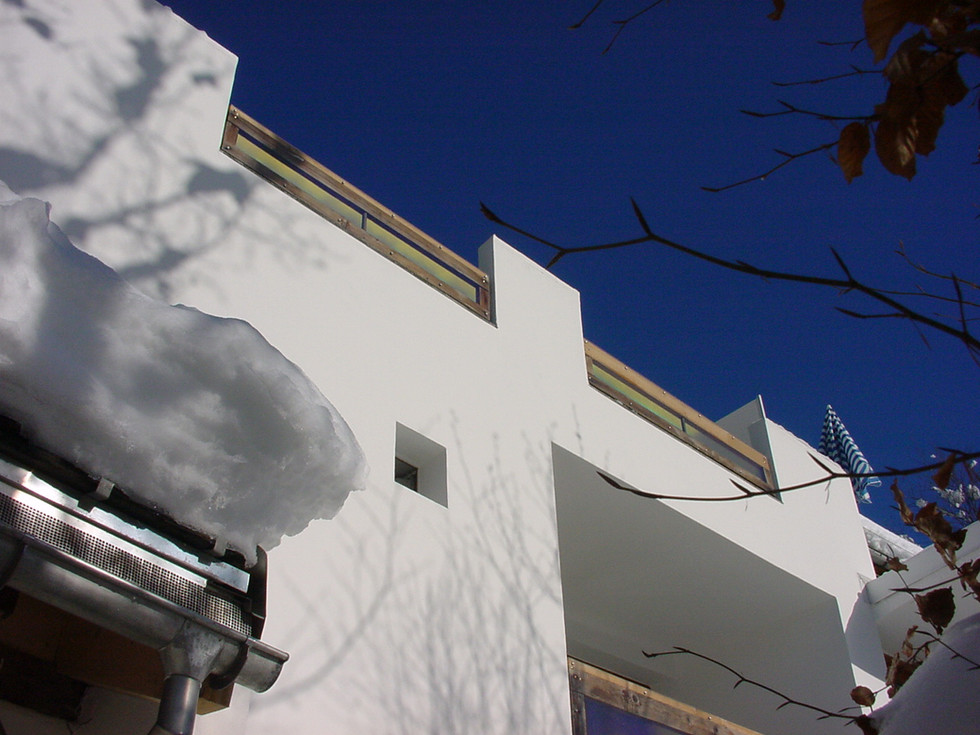 Casa Las Caglias Südfassade