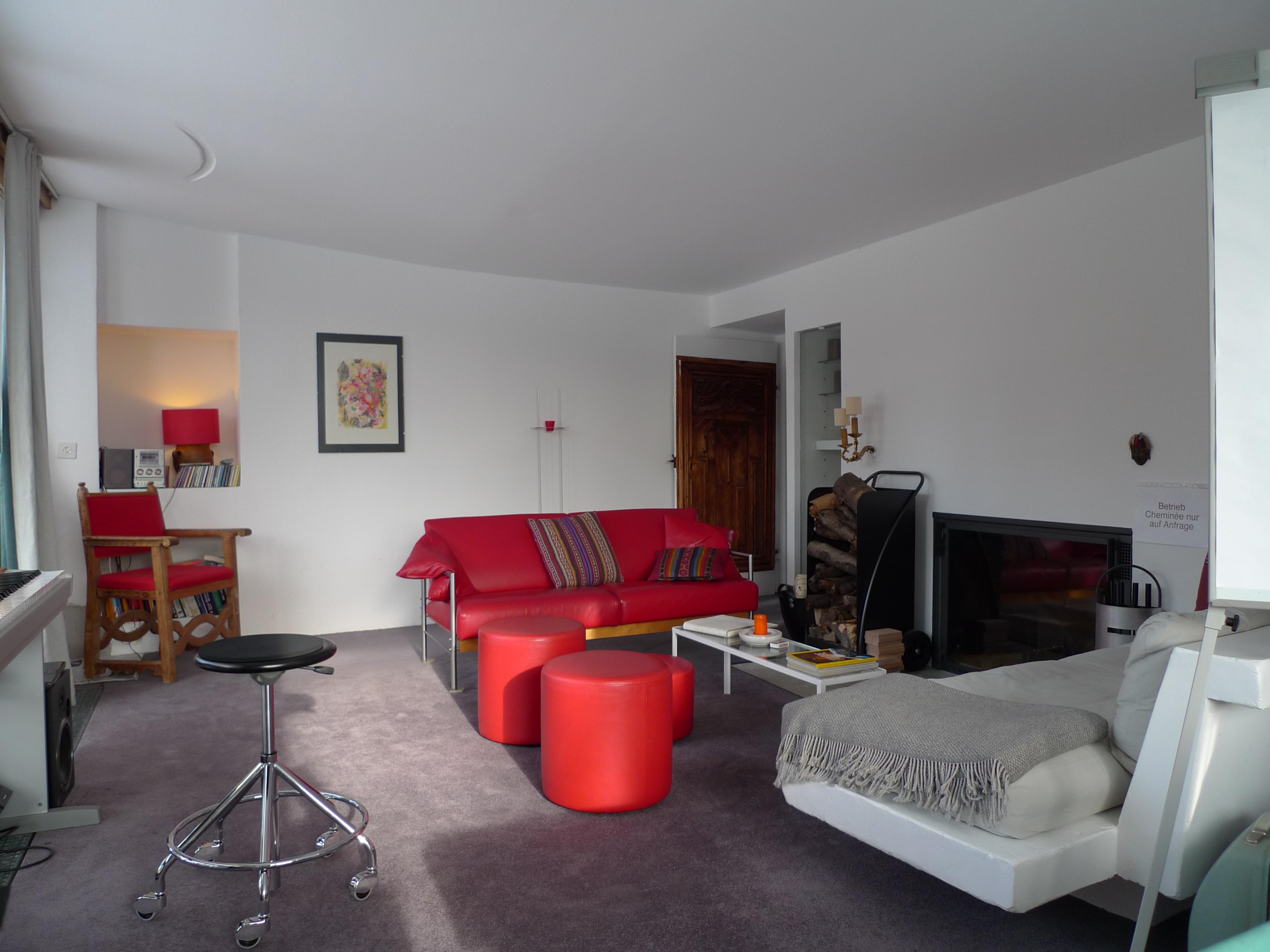 Casa Las Caglias - Wohnzimmer