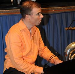 Philippe on piano