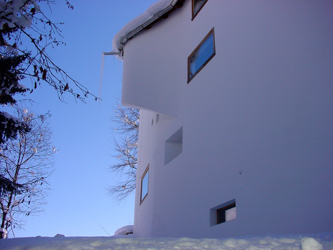 Casa Las Caglias Nordfassade