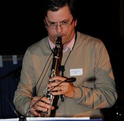 Christian on clarinet