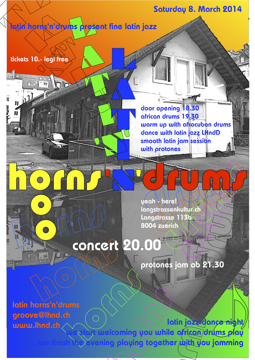 2014 LATIN HORNS'n'DRUMS