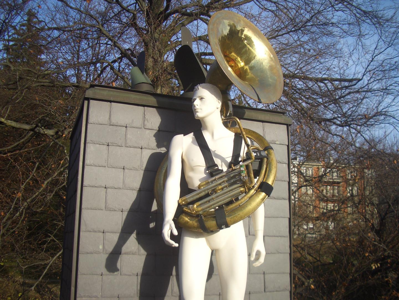 CroXbelt - tuba sousaphone euphonium strap/harness