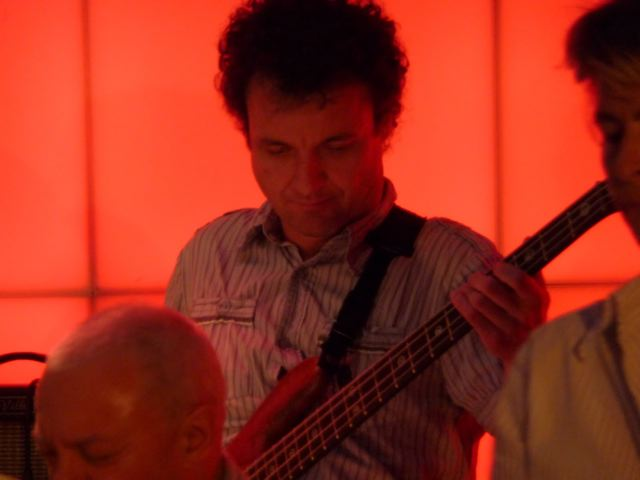 Stefan on bass
