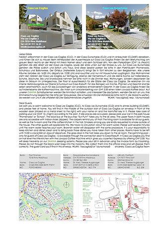 General Info to Casa Las Caglias