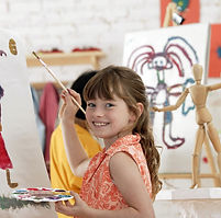 Mädchen Painter