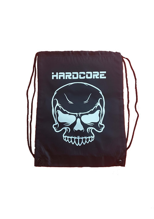 HC skull stringbag black