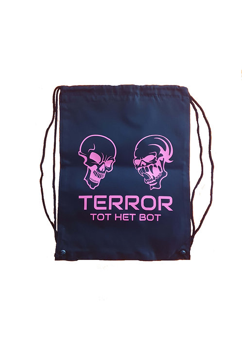 Terror THB stringbag black/pink