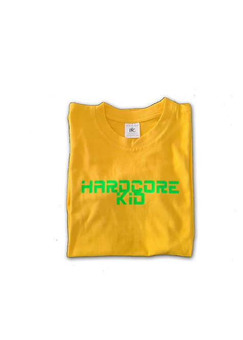 Hardcore kid Yellow and green