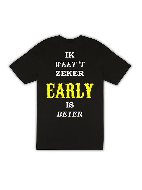 Early is beter Yellow