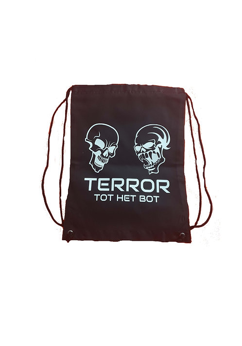 Terror THB stringbag black/white