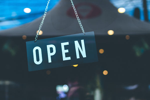 selective-focus-photography-of-open-sign
