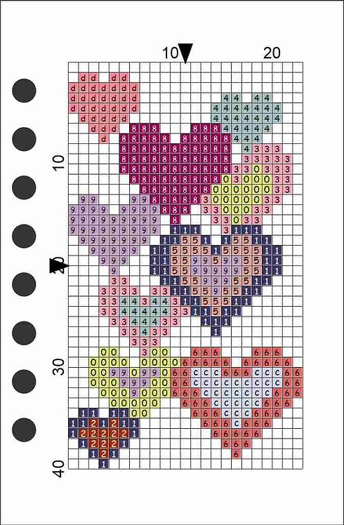 Small notebook -Hearts Pink