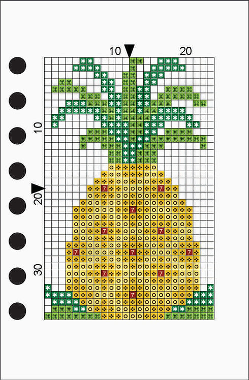 Small notebook - Pineapple