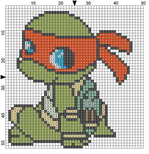 Ninja Turtle - Orange