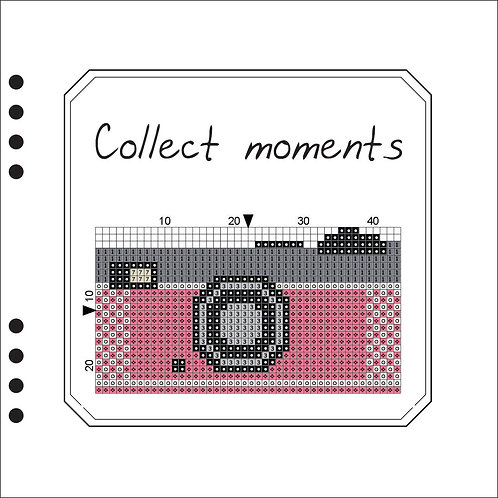 Collect moments Pink