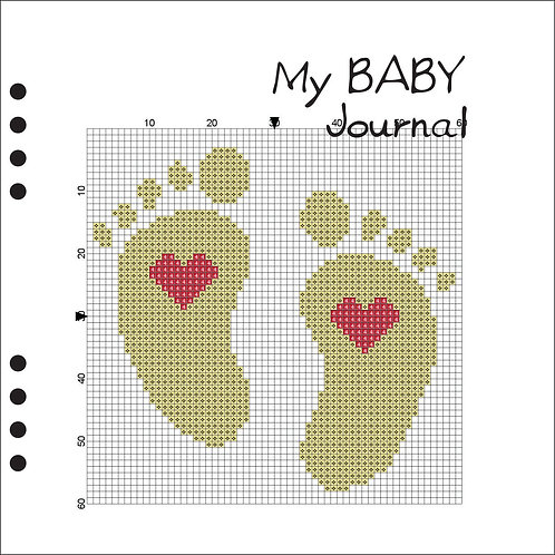 My Baby Journal Yellow