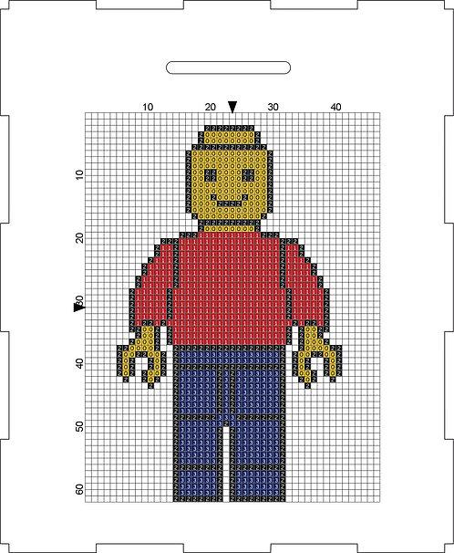 Money Box - Lego man