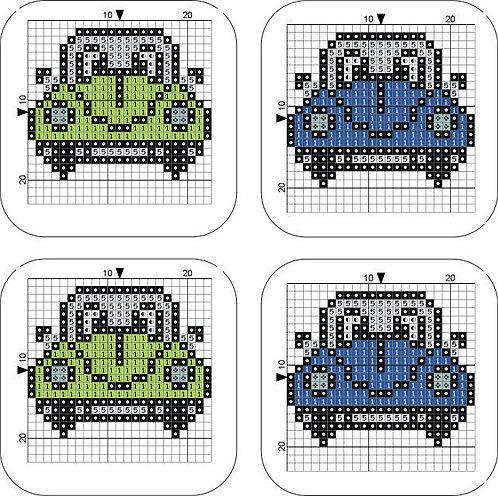 Coaster Beetle Green/Blue