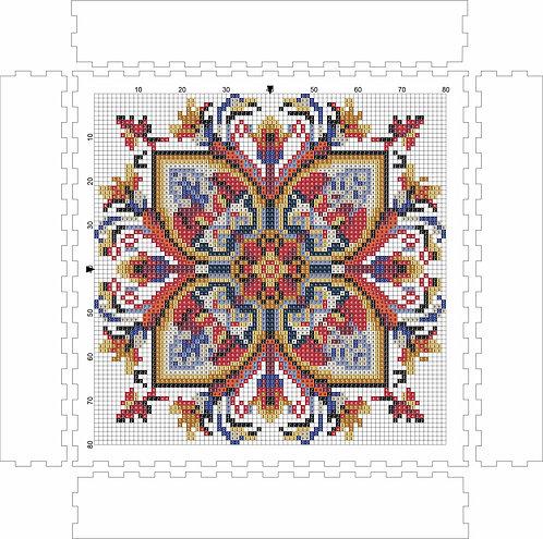 Wall Art Block - Pattern 2