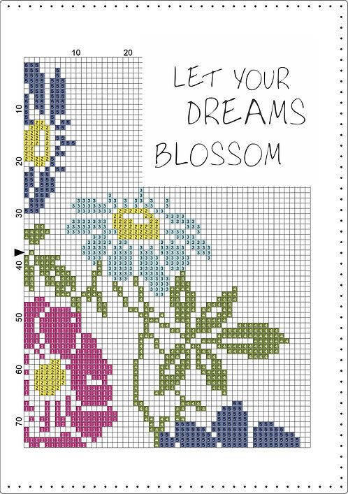 A5 Leather - Let your dreams Blossom